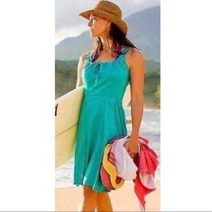 Athleta Empress Beach Dress Teal Size XXS